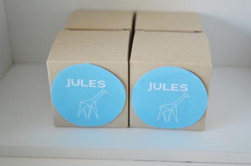 Doopsuikerdoosje Jules