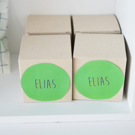Doopsuikerdoosje Elias