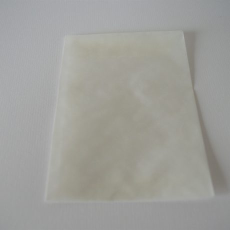 doopsuikerzakje, pergamijn
