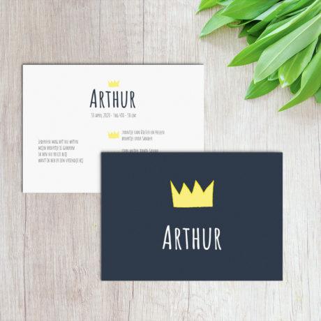 kaartje arthur